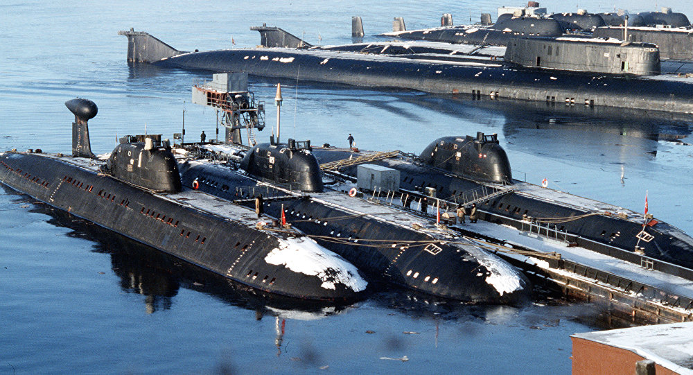 Russia nuclear submarines