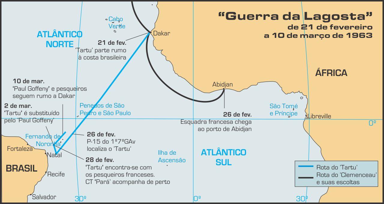 mapa atlantico sul