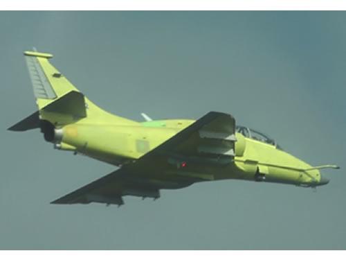voo AF-1C N-1022 sobre Gaviao Peixoto - foto MB