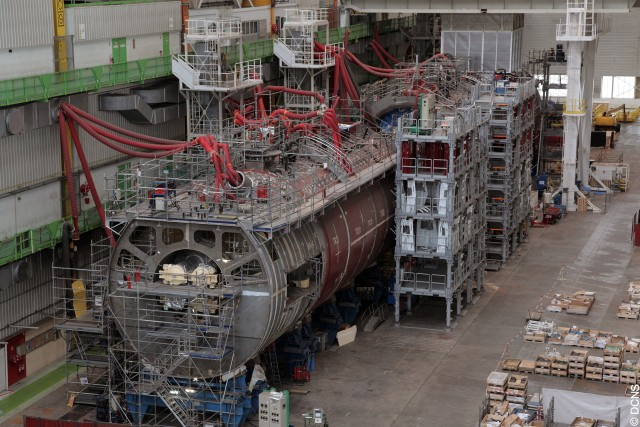 Barracuda Chantier 6 - Copyright DCNS