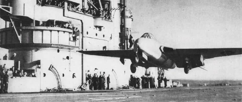 Brown foi o primeiro piloto a pousar um caça a jato a bordo de um porta-aviões. O feito ocorreu em 3 de dezembero de 1945, a bordo do HMS Ocean, em um jato DeHavilland Vampire