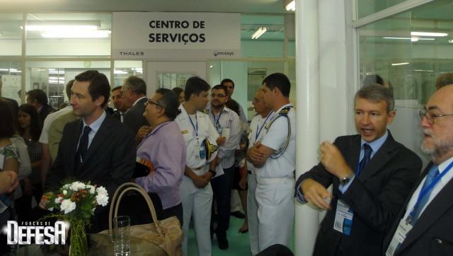 Thales inaug centro sonares - cerimonia 1 - foto Fernando Nunao - Poder Naval