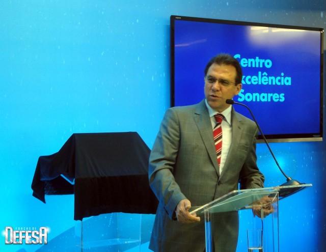 Thales inaug centro sonares - cerimonia 10 - foto Fernando Nunao - Poder Naval