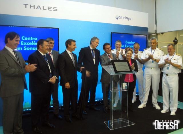 Thales inaug centro sonares - cerimonia 11 - foto Fernando Nunao - Poder Naval