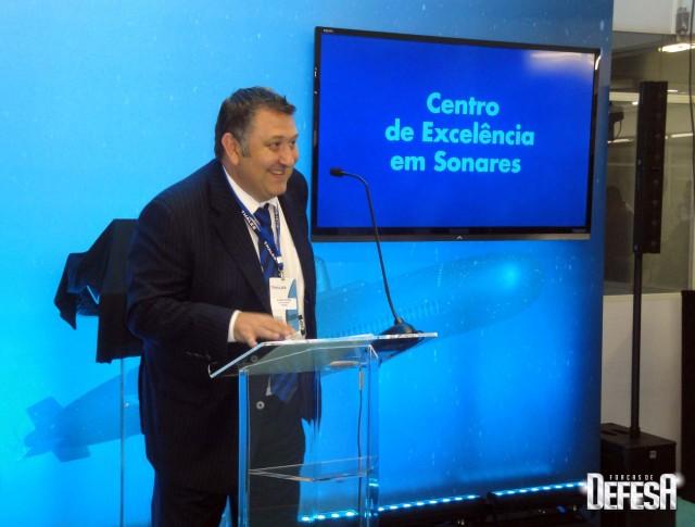 Thales inaug centro sonares - cerimonia 2 - foto Fernando Nunao - Poder Naval