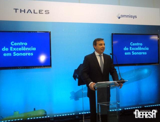 Thales inaug centro sonares - cerimonia 4 - foto Fernando Nunao - Poder Naval