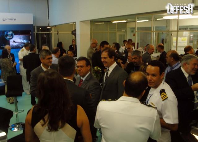 Thales inaug centro sonares - cerimonia 5 - foto Fernando Nunao - Poder Naval