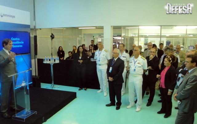 Thales inaug centro sonares - cerimonia 9 - foto Fernando Nunao - Poder Naval