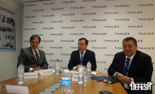 Thales inaug centro sonares - coletiva 1 - foto Fernando Nunao - Poder Naval