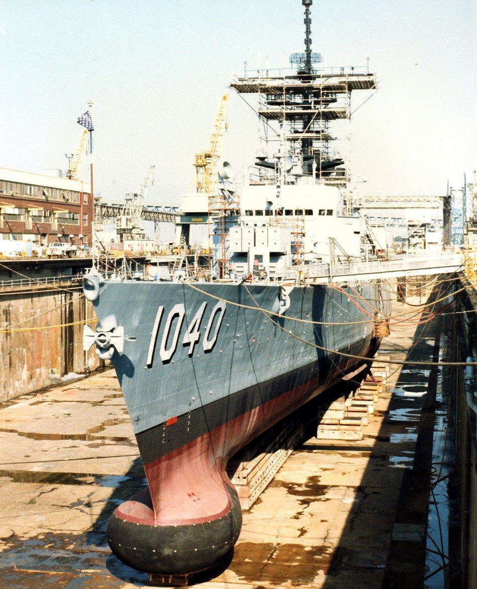 USS_Garcia_(FF-1040)_in_dry_dock