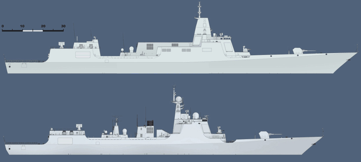 Profiles Type 055 and 052