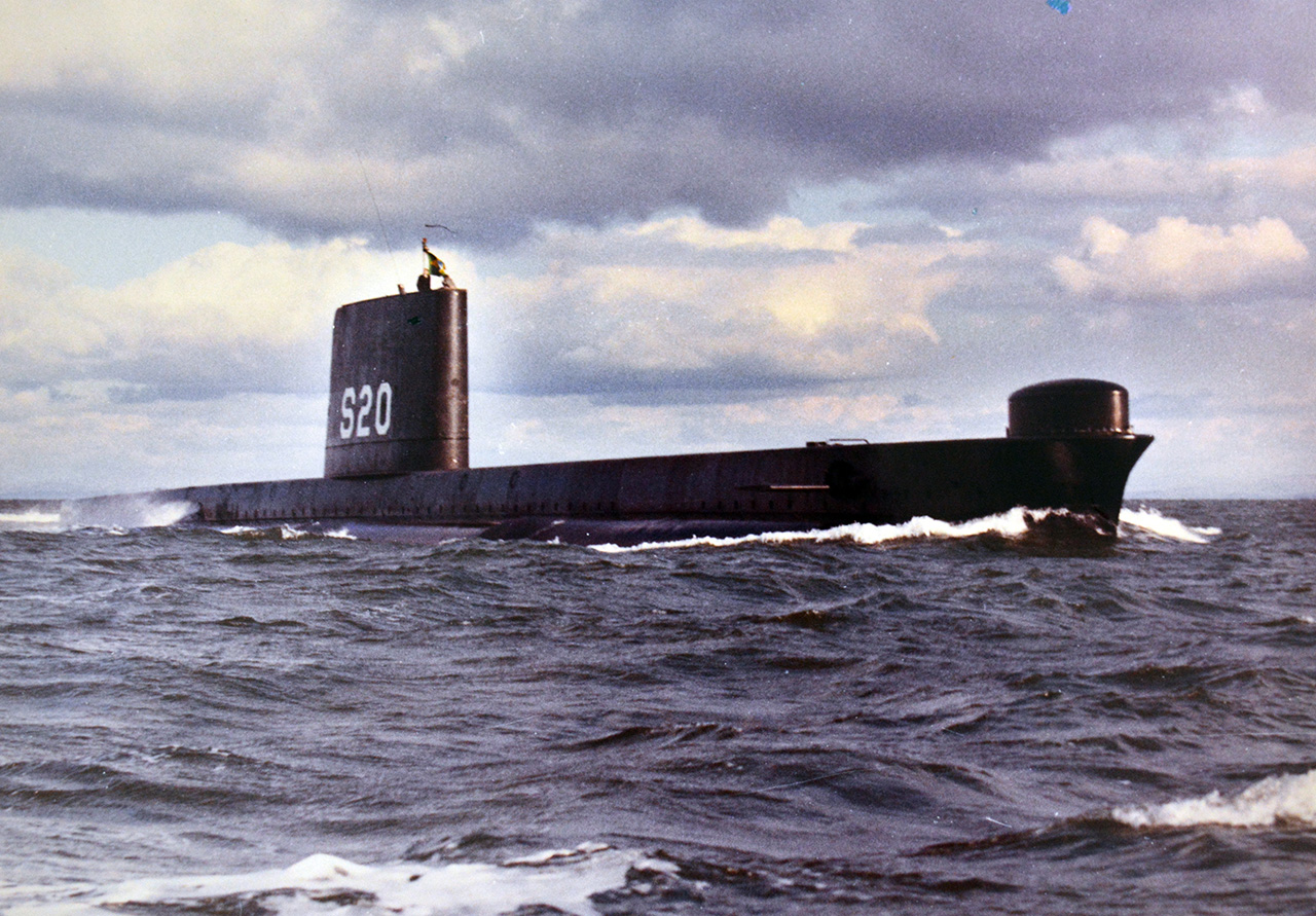 Submarino Humaitá - DPHDM