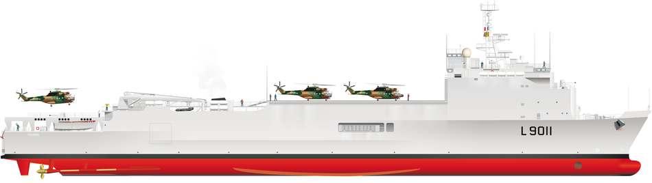 Transport de Chalands de Débarquement (TCD) type Foudre