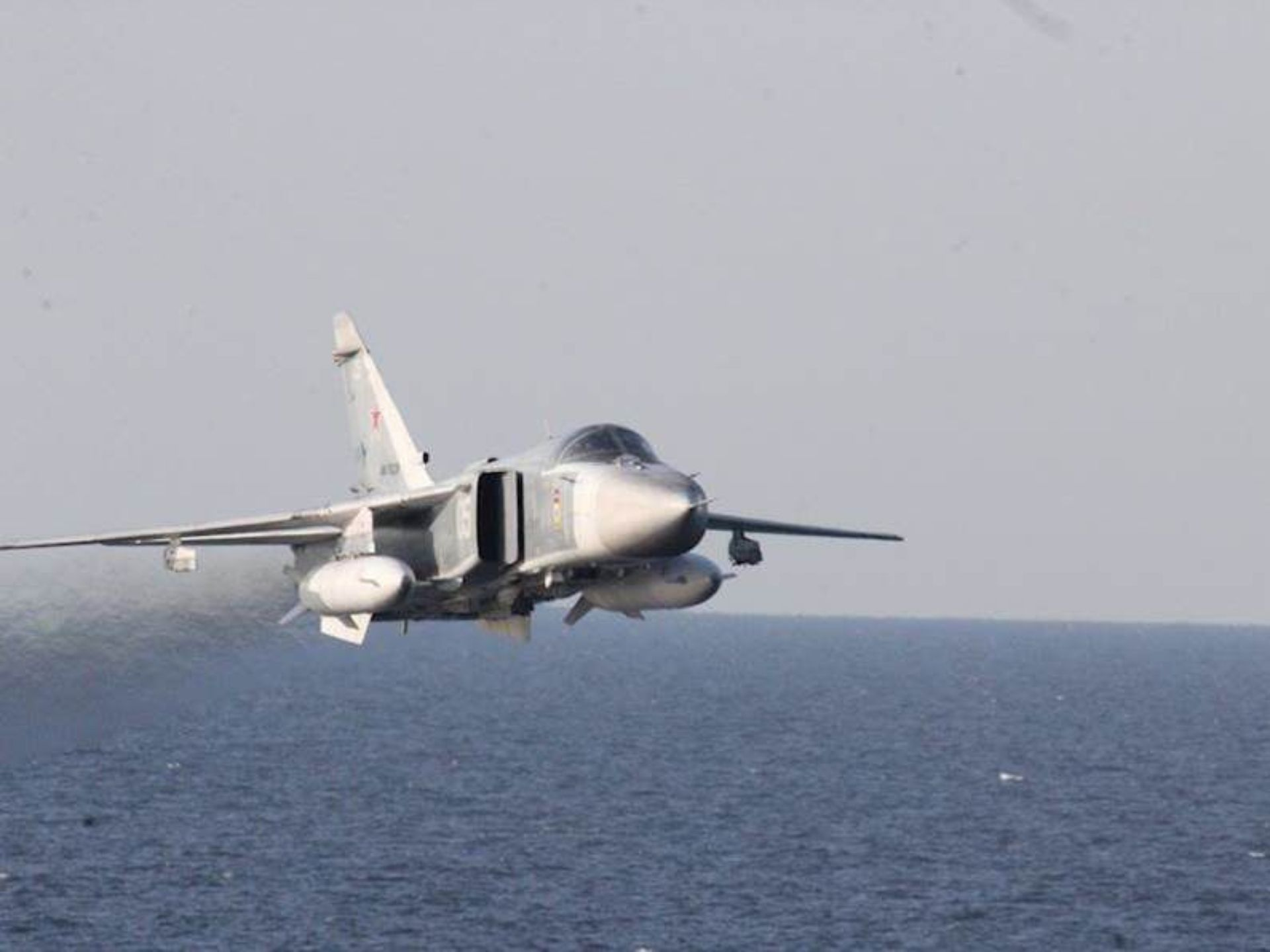 Su-24 flyby 6
