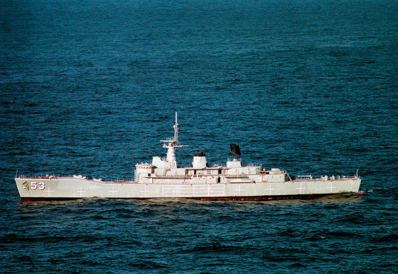 HMAS Torrens (DE-53) MK48 torpedo exercise - 1