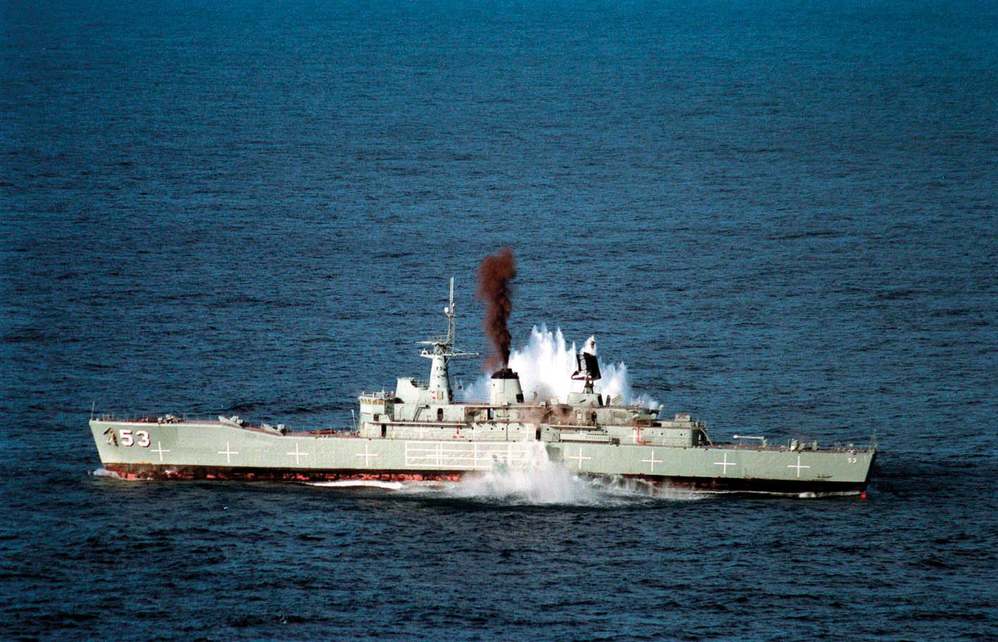 HMAS Torrens (DE-53) MK48 torpedo exercise - 2