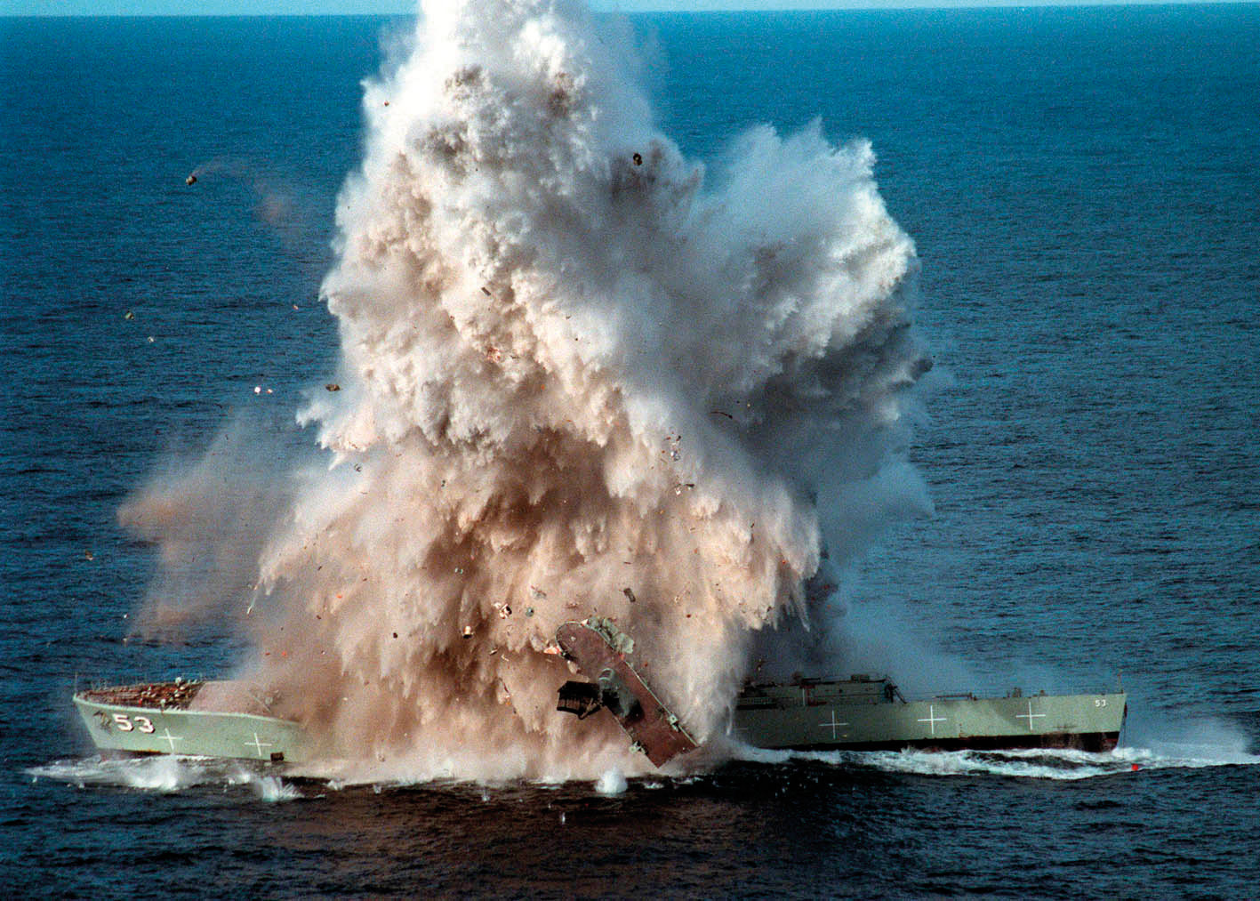 HMAS Torrens (DE-53) MK48 torpedo exercise - 6