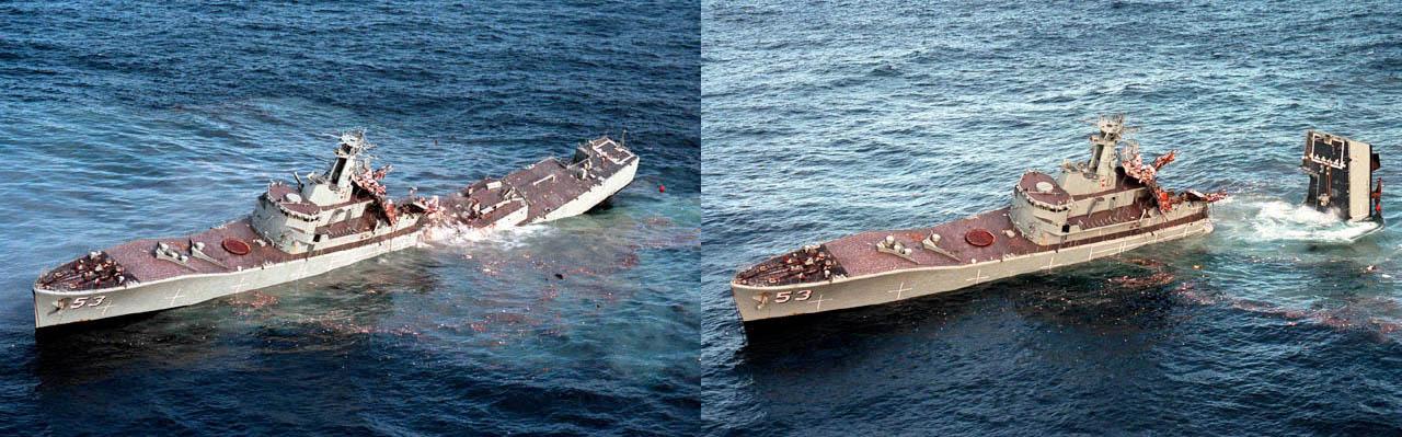 HMAS Torrens (DE-53) MK48 torpedo exercise - 6c