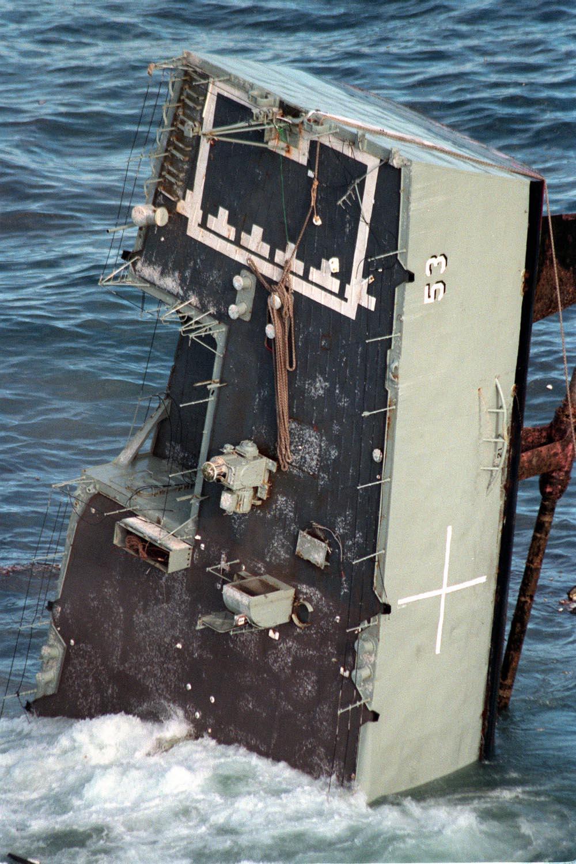 HMAS Torrens (DE-53) MK48 torpedo exercise - 7