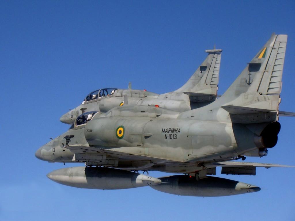Caças AF-1 da Marinha
