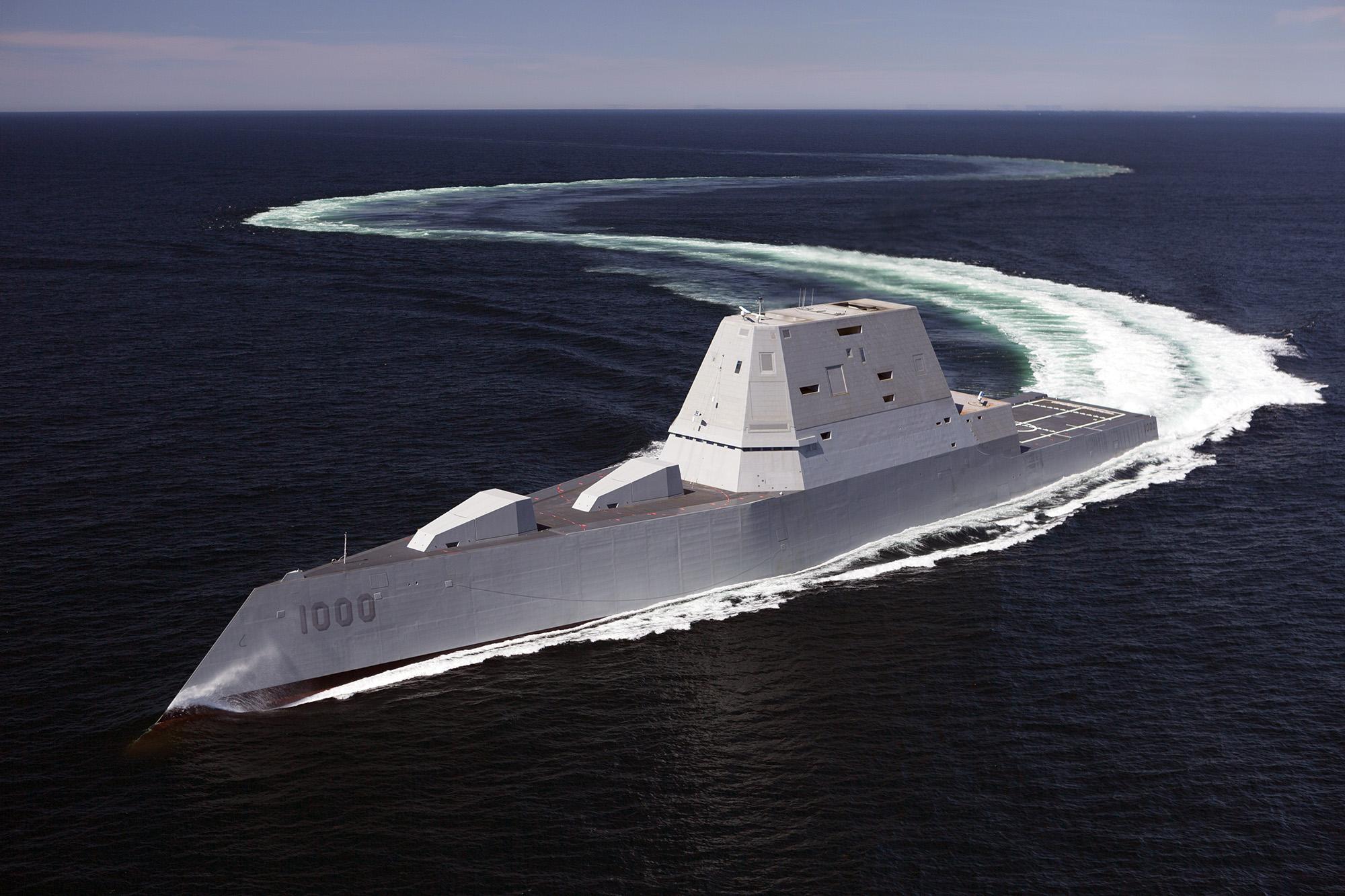 Destróier de mísseis guiados USS Zumwalt (DDG 1000)