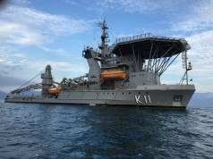 Navio de Salvamento Submarino Felinto Perry K11, da Marinha do Brasil
