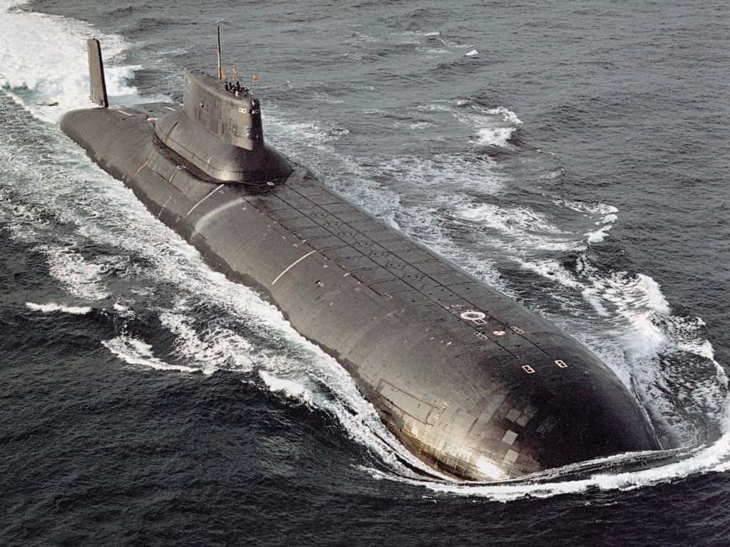 SSBN da classe Typhoon