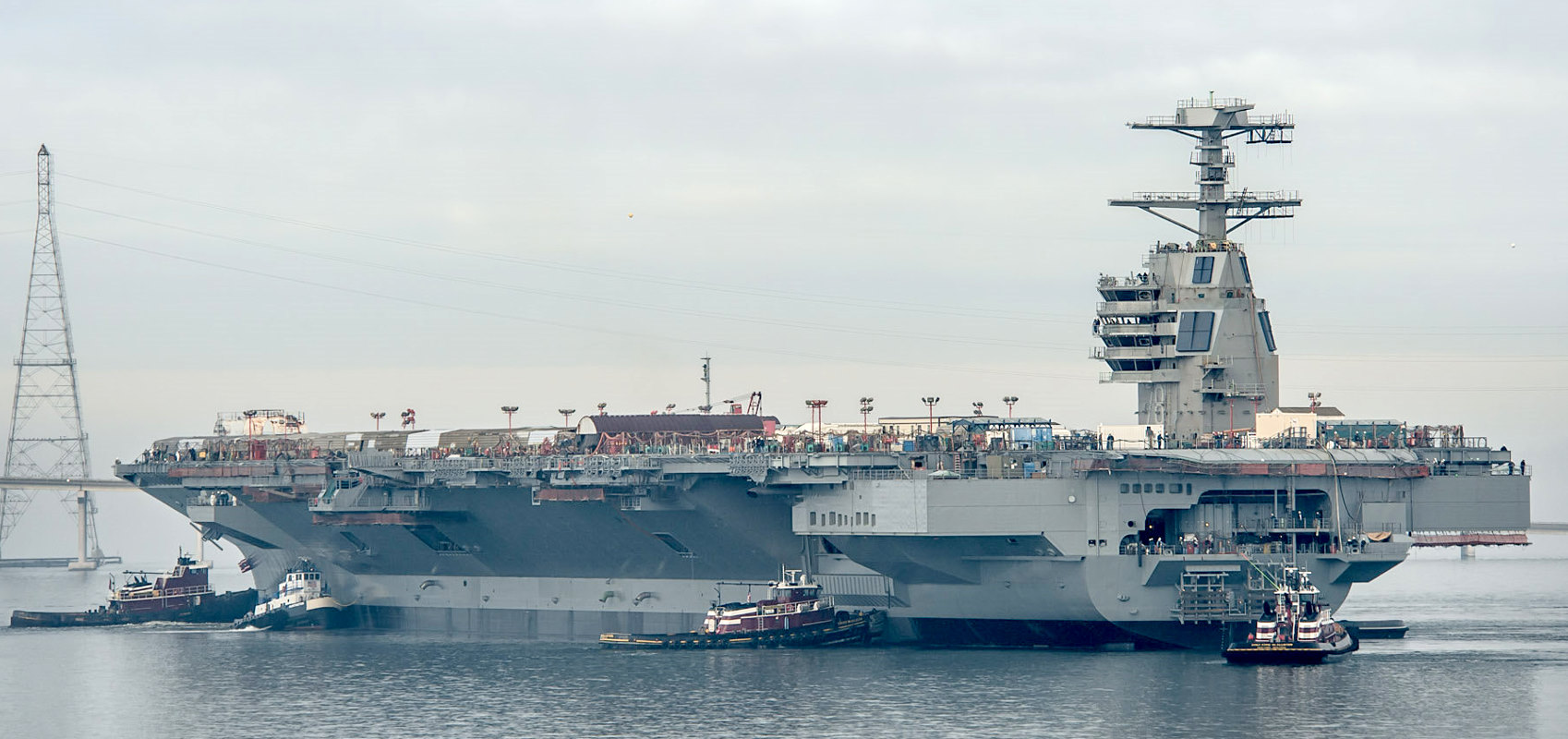 Gerald R. Ford (CVN78) -Photo by Chris Oxley