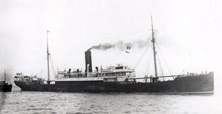 Foto do Henzada ou outro navio da mesma classe