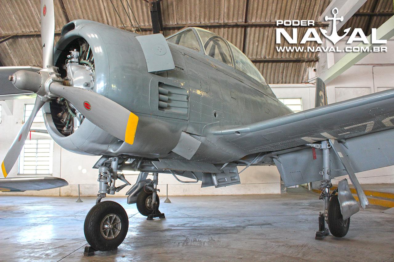NA T-28 da Marinha preservado no Museu Aeroespacial (MUSAL) no Rio de Janeiro