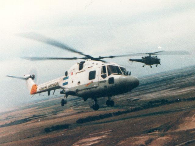 Westland Lynx da Armada Argentina