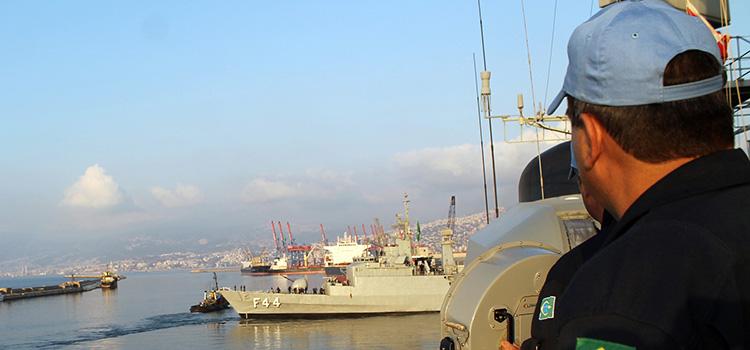 Fragata Independência retornando para o Brasil