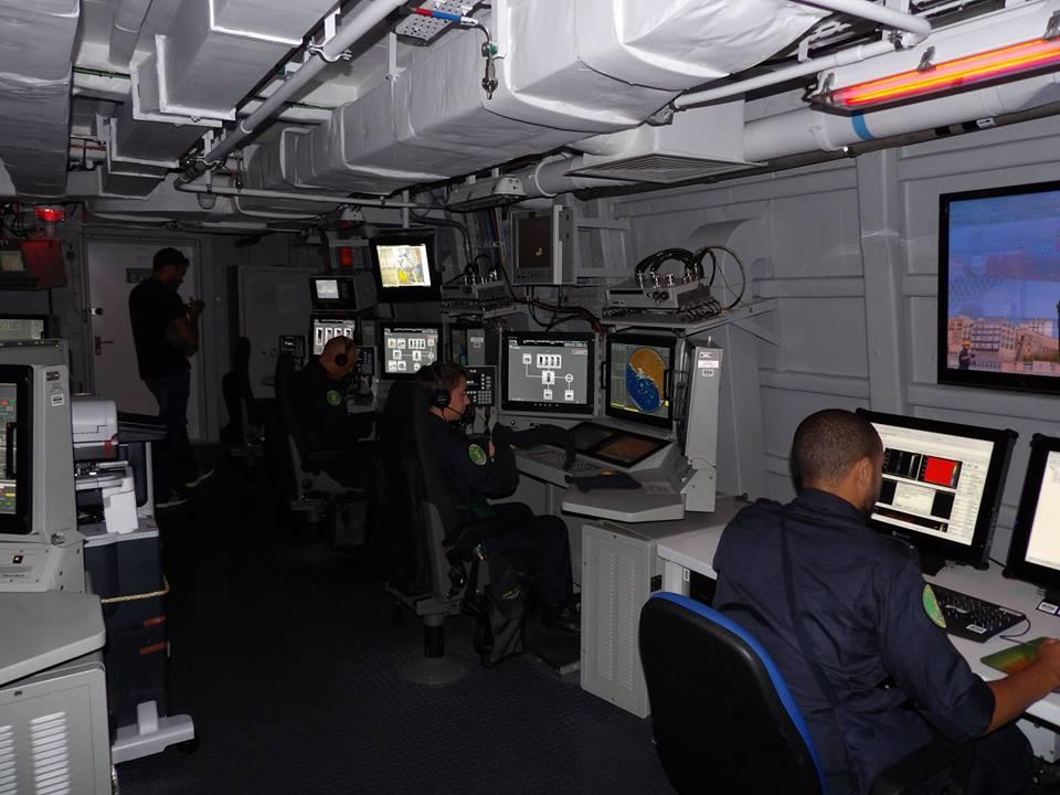 Centro de Operações de Combate da FREMM Alpino