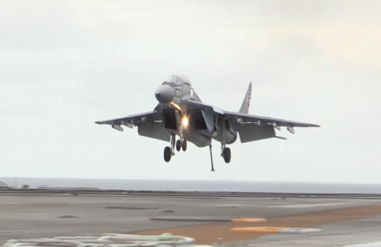 mig-29k-landing