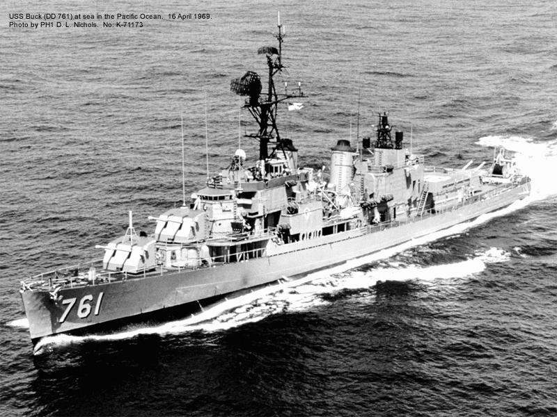 USS Buck - DD761, depois CT Alagoas D36
