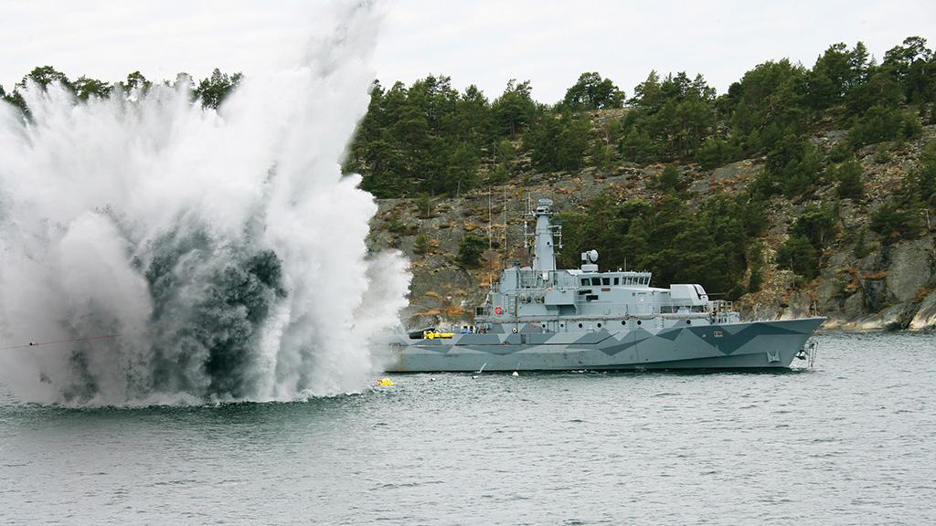 Navio caça-minas