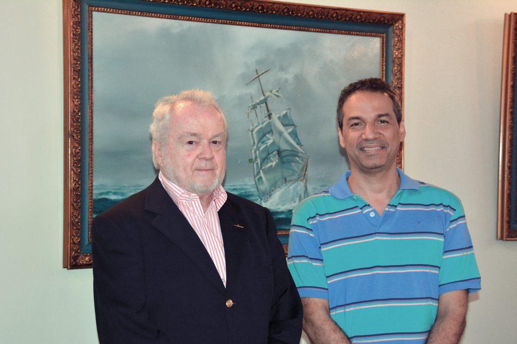 comandante-schara-e-o-editor-alexandre-galante