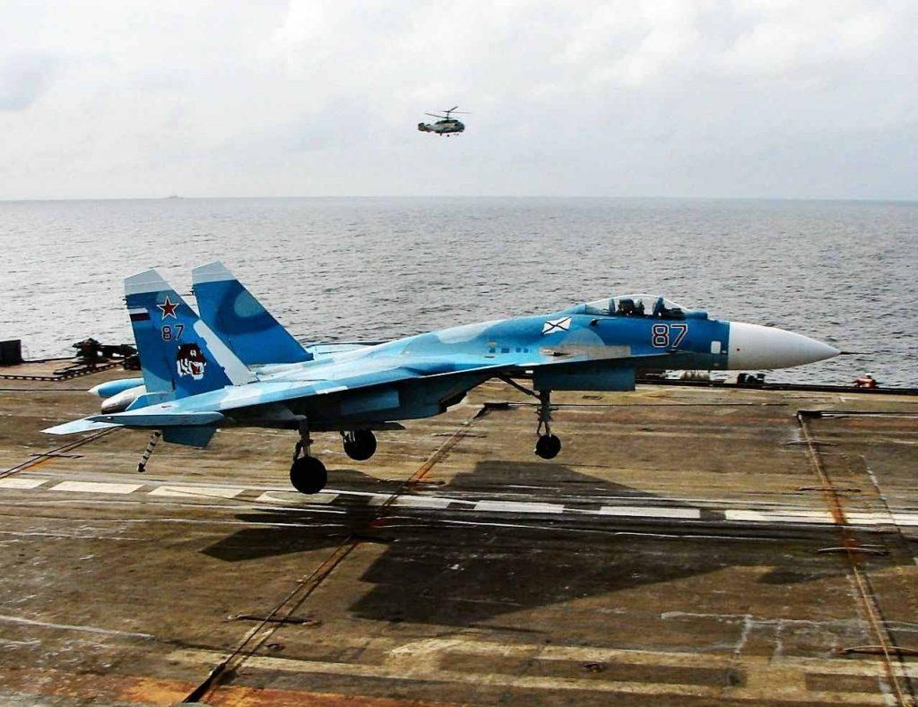 su-33-landing
