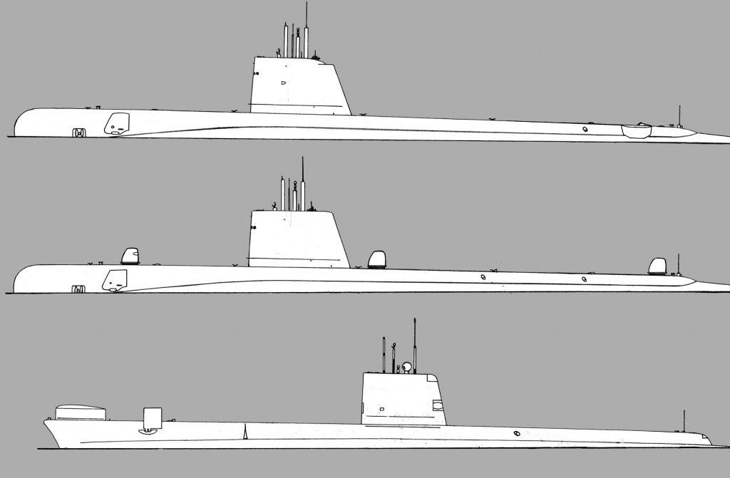 As classes de submarinos brasileiros nos anos 1980: Guppy II e III e Oberon