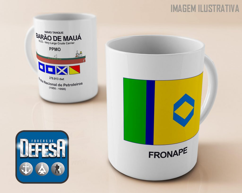 Caneca da Fronape da Defesa Store – www.defesastore.com.br