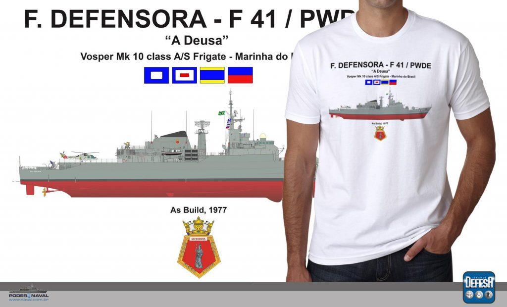 Camiseta da Fragata Defensora – www.defesastore.com.br