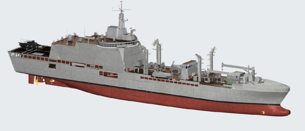 Logistic Support Ship (LSS) da Fincantieri