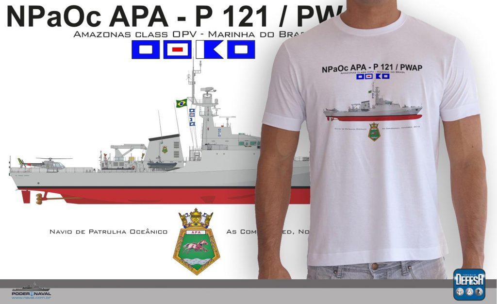Camiseta do NPaOc Apa – www.defesastore.com.br