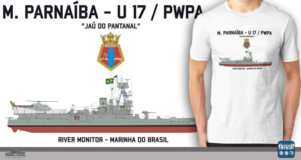 Camiseta do Monitor Parnaíba – www.defesastore.com.br