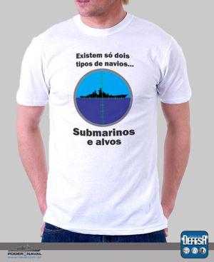 Camiseta de submarinista – www.defesastore.com.br