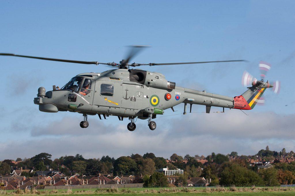 Primeiro AH-11B Super Lynx modernizado na Inglaterra