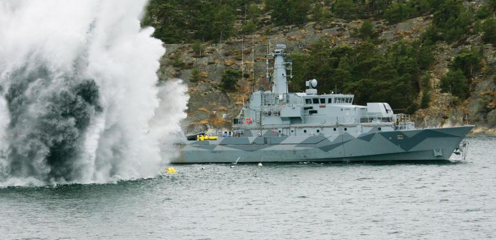 MCMV, o navio de contramedidas de minagem da Saab