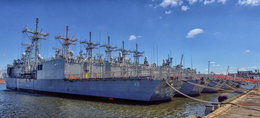 Fragatas OHP desativadas nos EUA aguardam compradores