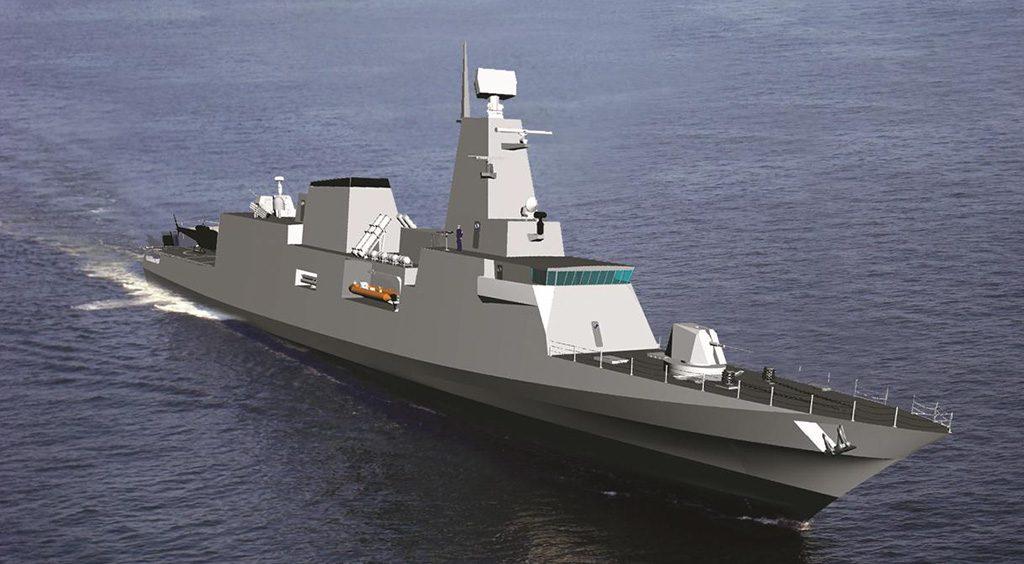 Concepção da corveta classe Tamandaré