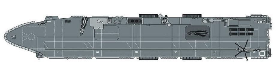 Convés de voo do HMS Ocean